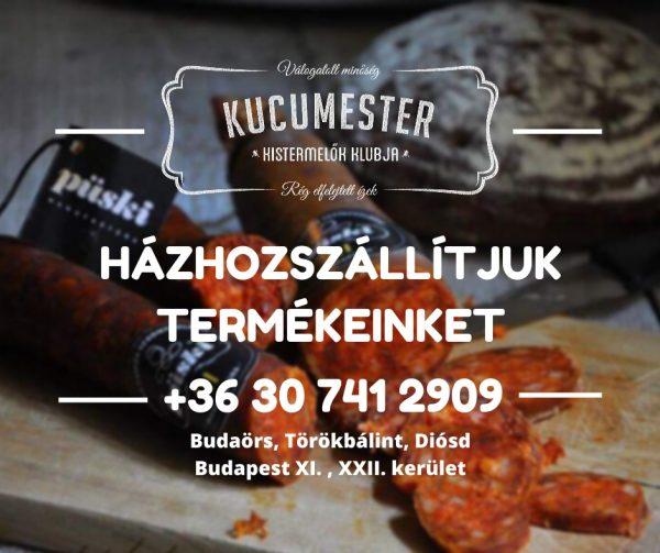 Házhozszállítás - Kucumester